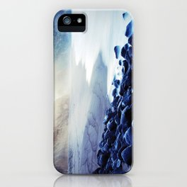 When the ocean meets the island iPhone Case