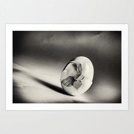 Shattered Remnant Art Print