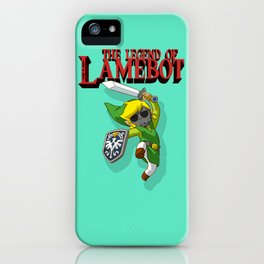 The Legend of LAMEBOT iPhone Case
