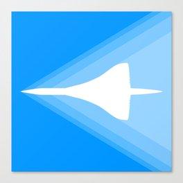 Concorde Shockwave Canvas Print