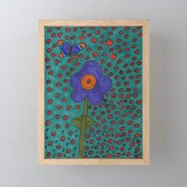 Flower Delight Framed Mini Art Print