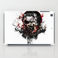 metal gear solid iPad Cases featuring Metal Gear Solid V: The Phantom Pain by ururuty