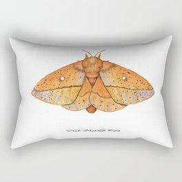 Spiny Oakworm Moth (Anisota stigma) Rectangular Pillow