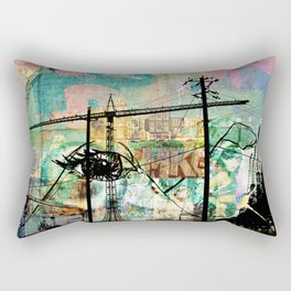 Tripping In & Out Of 'Dam Rectangular Pillow