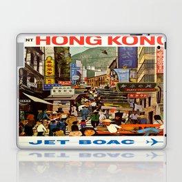 Vintage poster - Hong Kong Laptop & iPad Skin