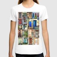 door T-shirts featuring door by gzm_guvenc