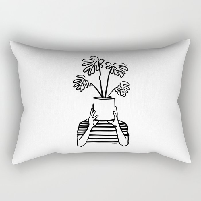 Mood plants Rectangular Pillow