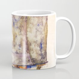 Egon Schiele - Street cart (new editing) Coffee Mug