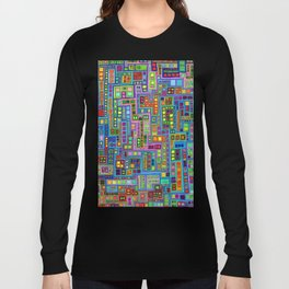 Tiled City Long Sleeve T-shirt