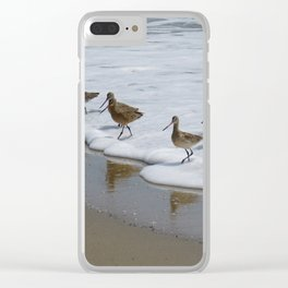 Sandpiper Convention at Malibu Colony Clear iPhone Case