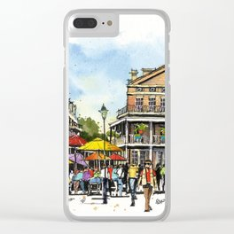 Chartres Street, New Orleans Clear iPhone Case