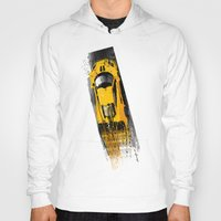 senna Hoodies featuring McLaren MP4 12C by Michele Leonello