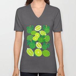 Lime Harvest Unisex V-Ausschnitt