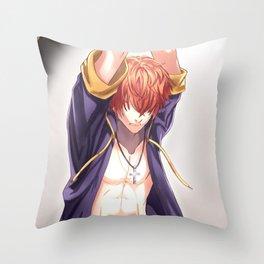 707: The Prisoner (Mystic Messenger) Throw Pillow