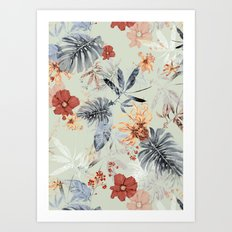 Tropical Daylight Art Print