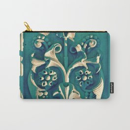Green Flowers in New York City Carry-All Pouch