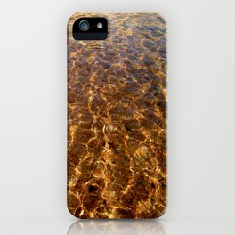 Clear Cool Water iPhone Case