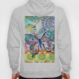 Fantasía con Mariposas Hoody