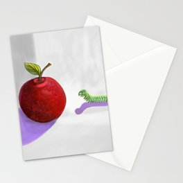 Gus and the apple Stationery Cards
