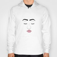 lips Hoodies featuring LIPS by just_cortni