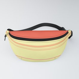 Colorful Bright Spring Stripes Fanny Pack