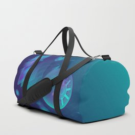 ABSTRACT SCIENCE TECHNOLOGY DESIGN Duffle Bag