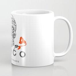 Cinco by Tatemono Paris Red Rose Coffee Mug