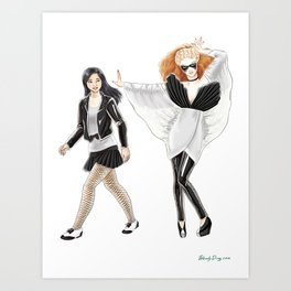 Fashion Journal: Day 3 Art Print