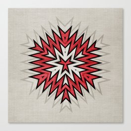 Abstract Geometric Pattern Canvas Print