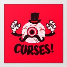 curses! Canvas Print