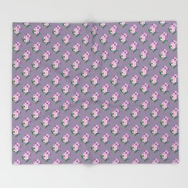 Lilac Throw Blanket