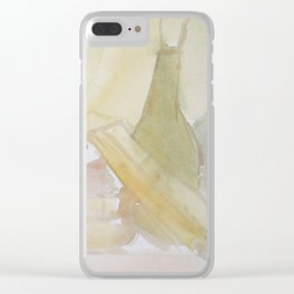 Dissolving Still Life Clear iPhone Case