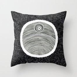 Death Star Scribble Throw Pillow
