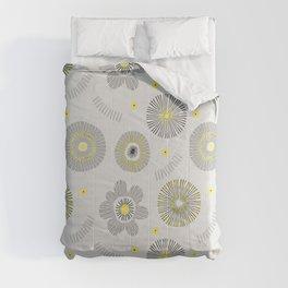 Yellow and Black Comforters