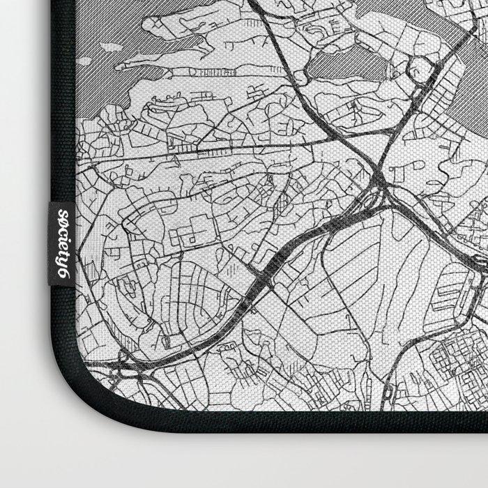Stockholm Map Line Laptop Sleeve