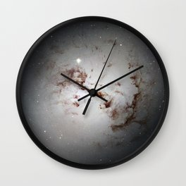 Elliptical Galaxy Wall Clock