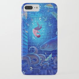 A Sea of Books iPhone Case