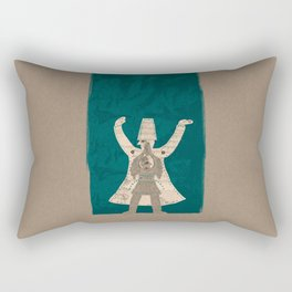 There is another me, deep inside of me Rectangular Pillow
