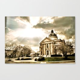 Saint Catherine Canvas Print
