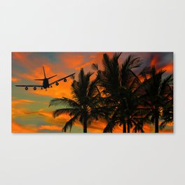 Dream  of travel Canvas Print