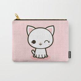 Kawaii Kitty 3 Carry-All Pouch