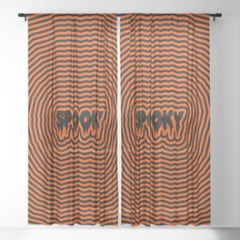 Spooky Sheer Curtain