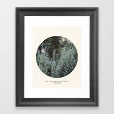 Bury Us 2 Framed Art Print