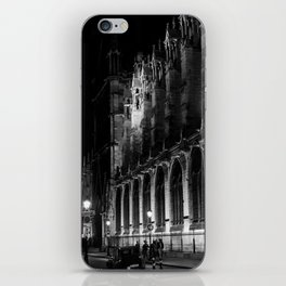 A View of the Northern Edge of Notre Dame Cathedral, Paris, France iPhone Skin
