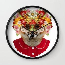 foxface Wall Clock
