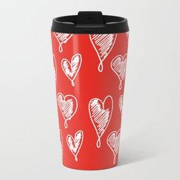 friends hearts Travel Mug