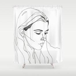 KING LYNN GUNN / PVRIS Shower Curtain