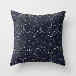 Zodiac Constellations - Scorpio Throw Pillow