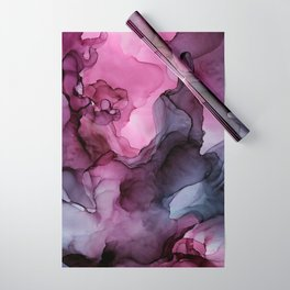 Abstract Ink Painting Ethereal Flowing Watercolor Nebula Wrapping Paper