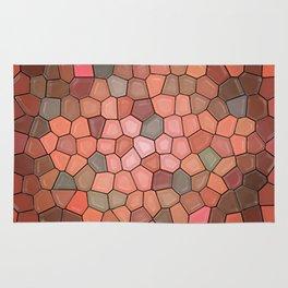 Terracotta Mosaic Rug